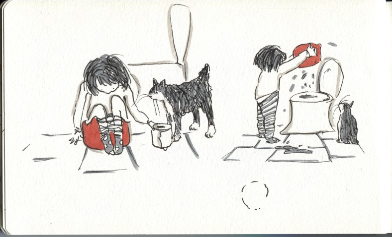 potty training...