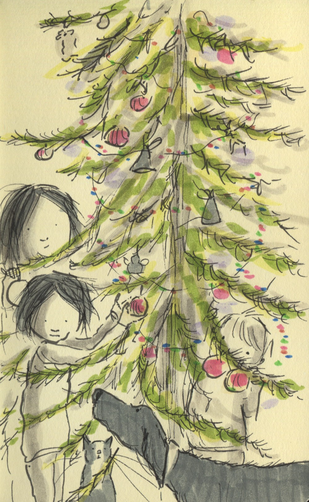 christmas tree2012