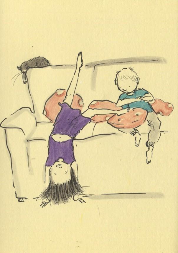 handstand gymnastics