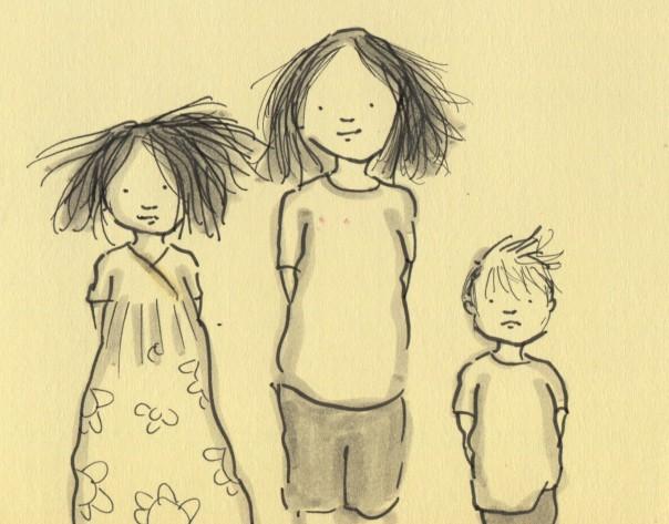 hair siblings