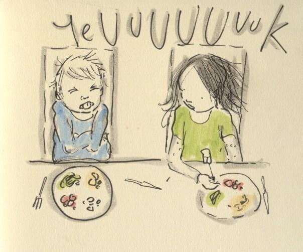 my dinner is evil