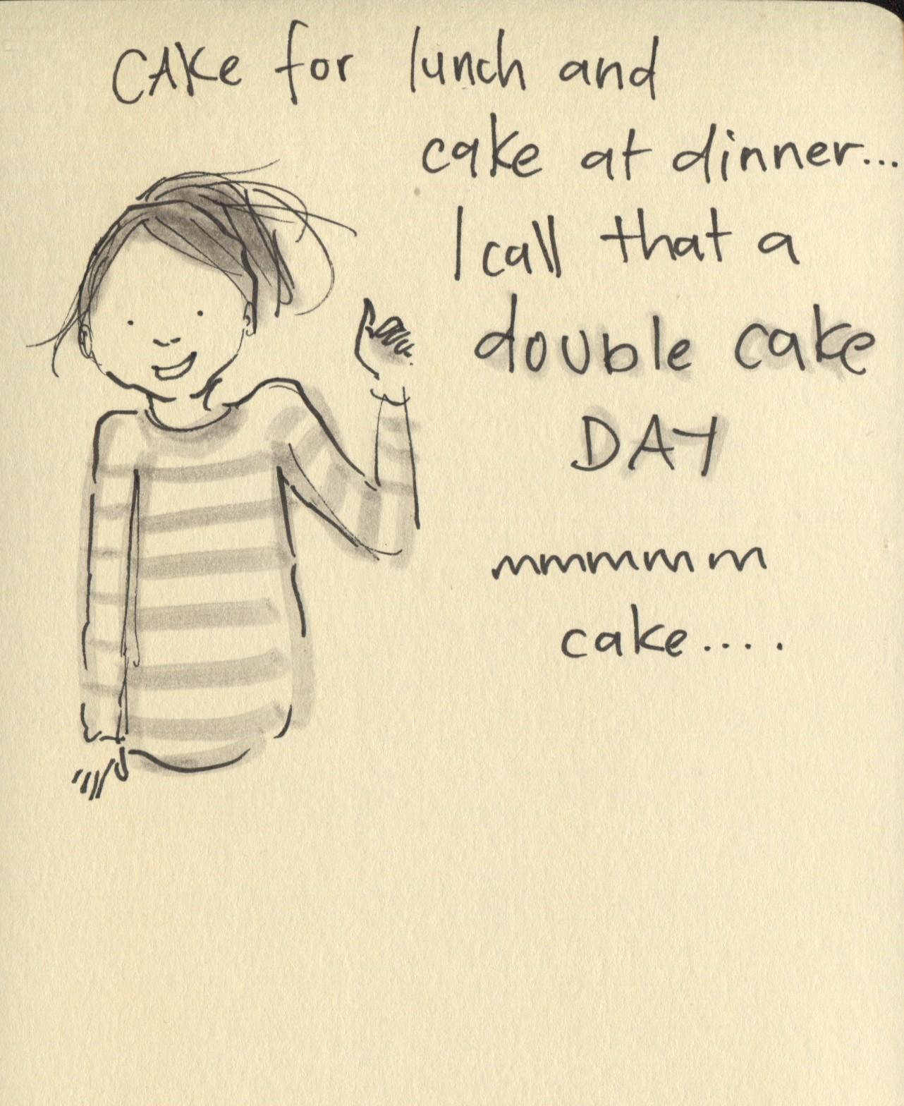 double cake