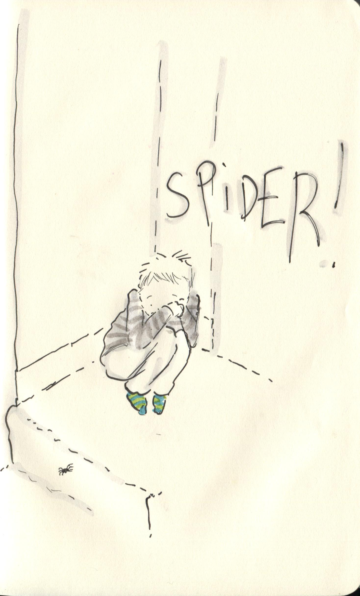aaah spider