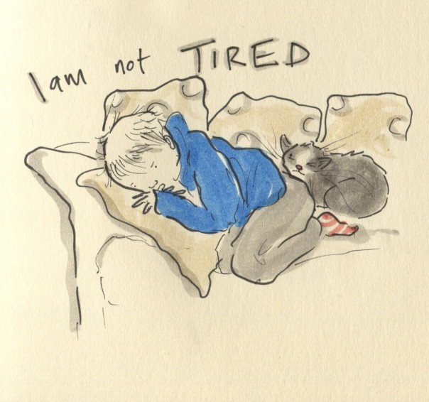 I am not tired