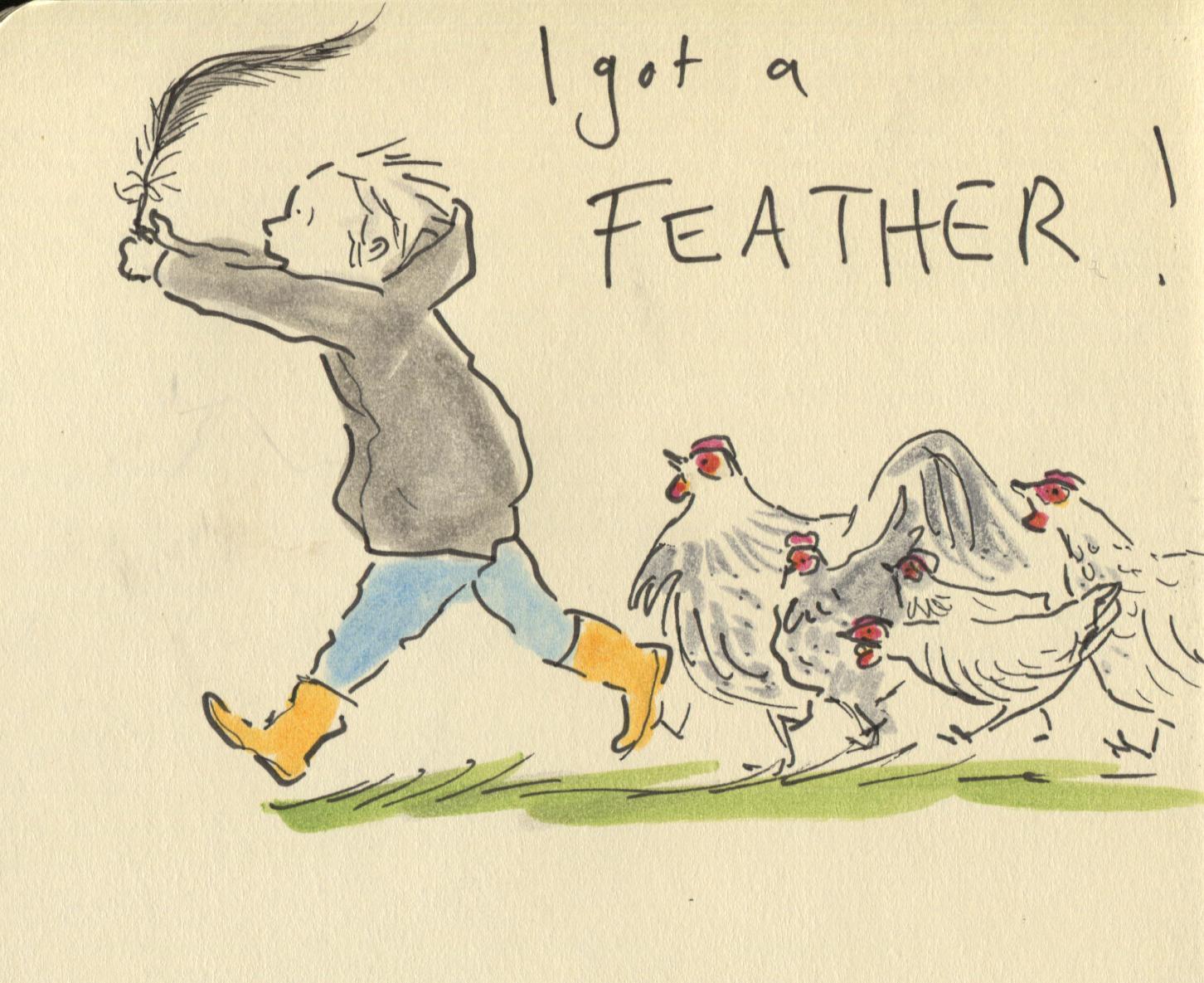 treasure feather
