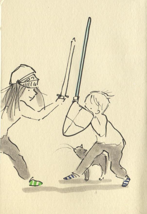 lightsaber versus sword
