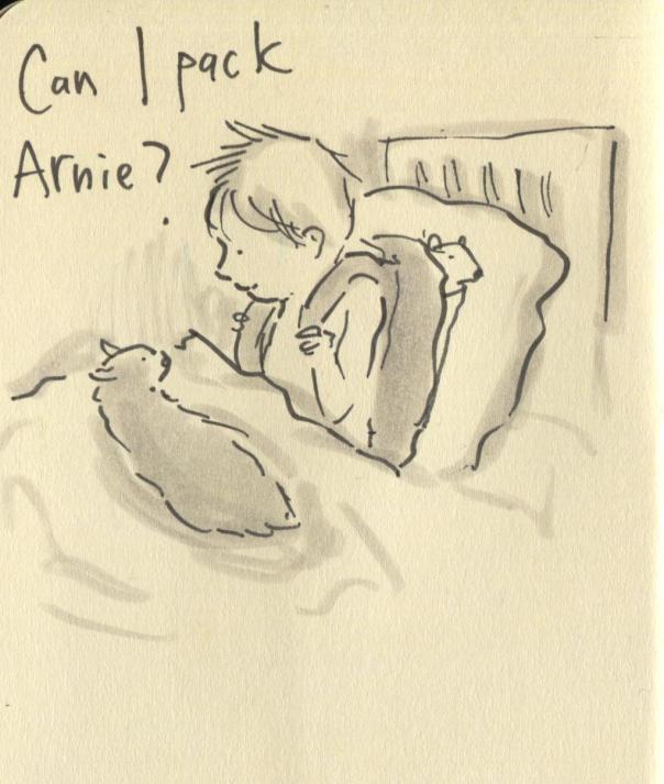 pack arnie