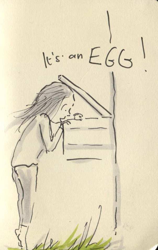 first egg