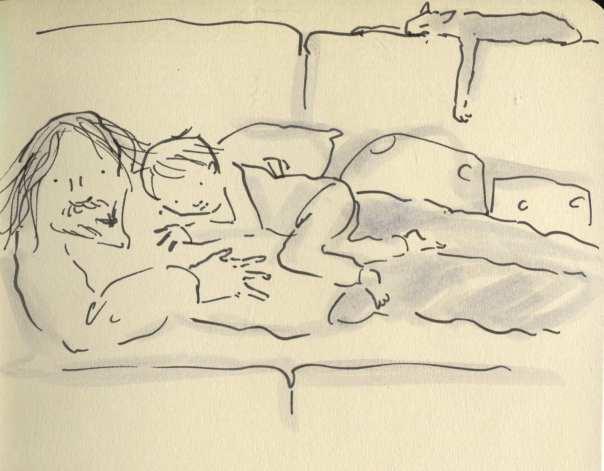 dad sofa