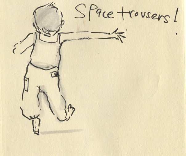 space trousers