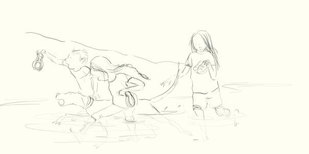 beach adventuring