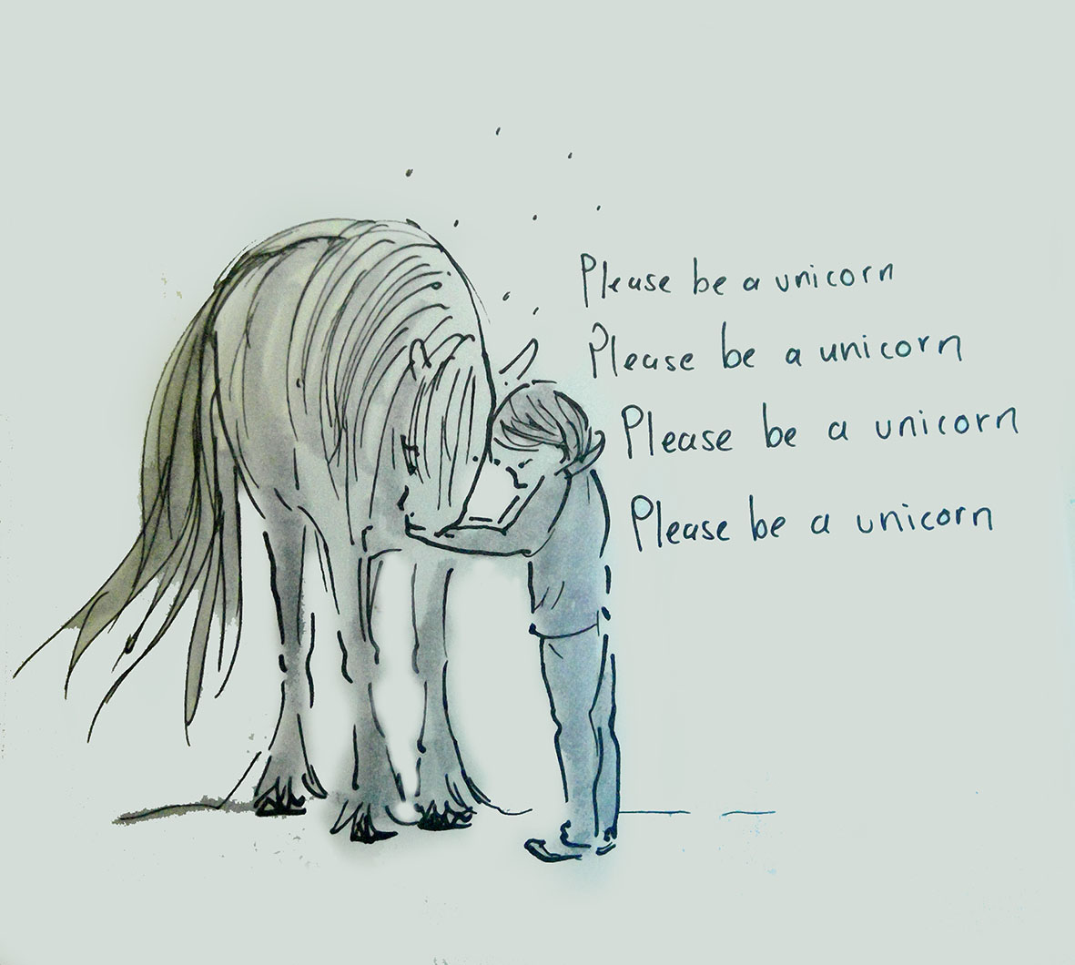 please be a unicorn