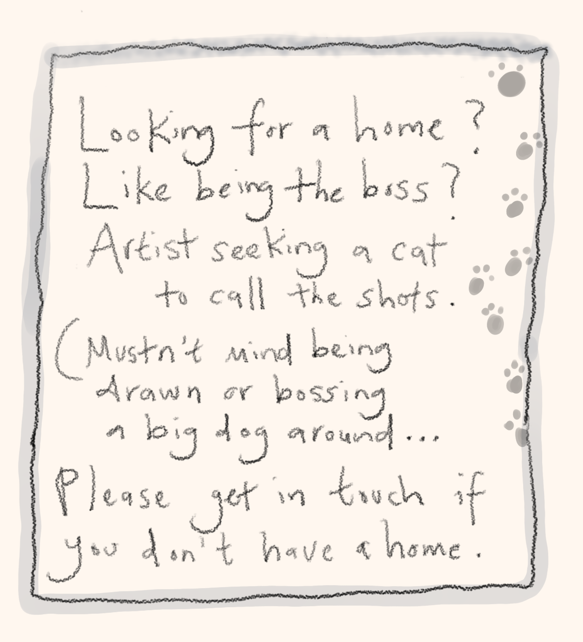 cat advert